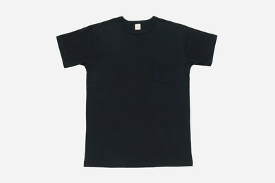 Heavyweight Pocket T Shirt Black 2 Pack 3sixteen