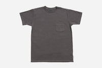 Garment Dyed Pocket T-Shirt ~ Charcoal