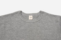 Heavyweight Pocket T-Shirt LONG ~ Heather Grey (2 Pack)