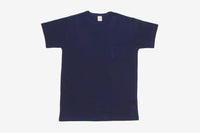 Heavyweight Pocket T-Shirt ~ Indigo (2 Pack)