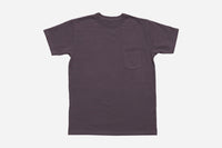 Garment Dyed Pocket T-Shirt ~ Purple