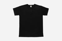 Short Sleeve Henley ~ Black