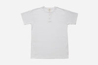 Short Sleeve Henley ~ White