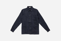 Thomas Hooper Shop Jacket ~ Navy Herringbone