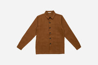 Thomas Hooper Shop Jacket ~ Orange Herringbone