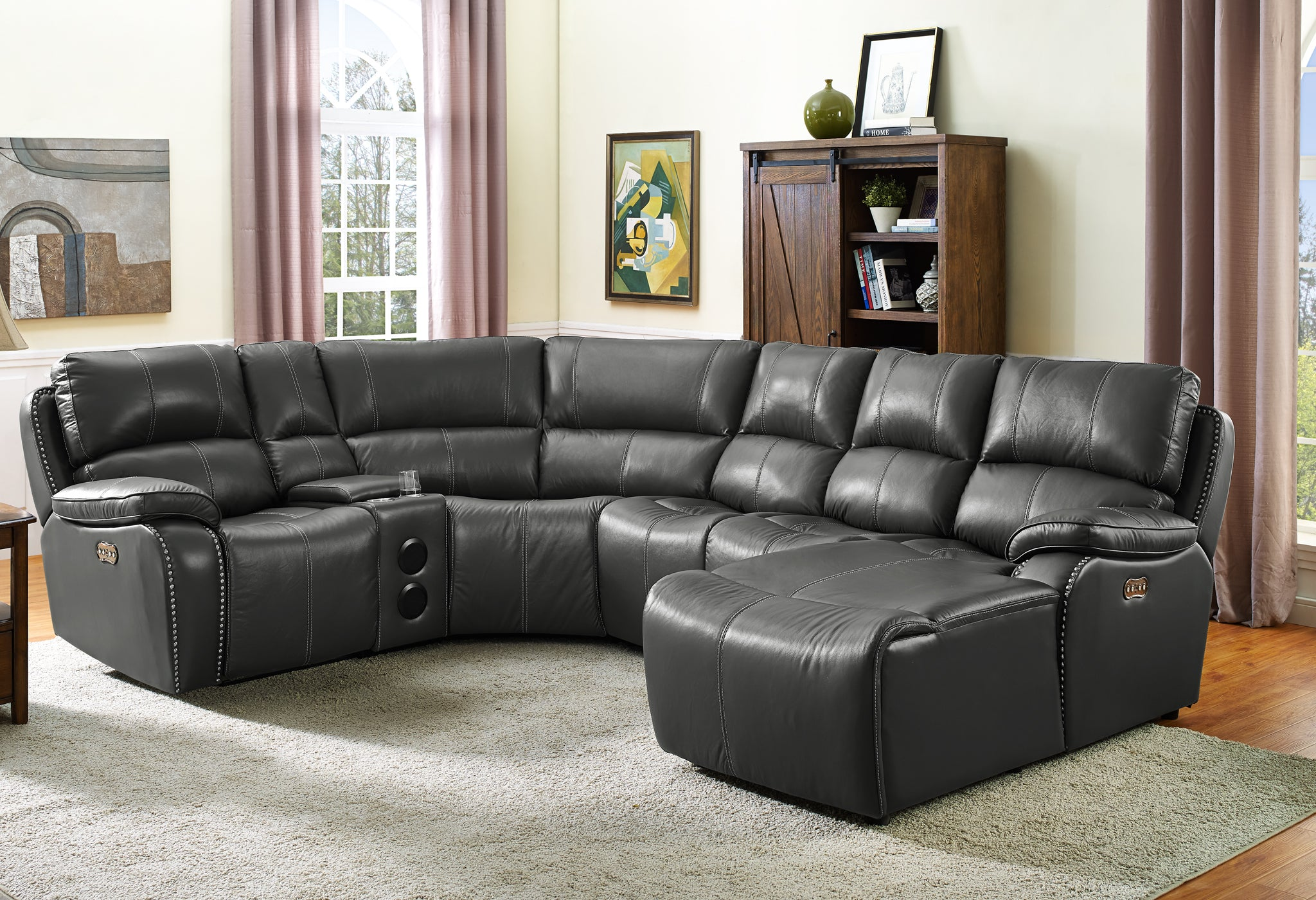 Lyra Sectional Grey
