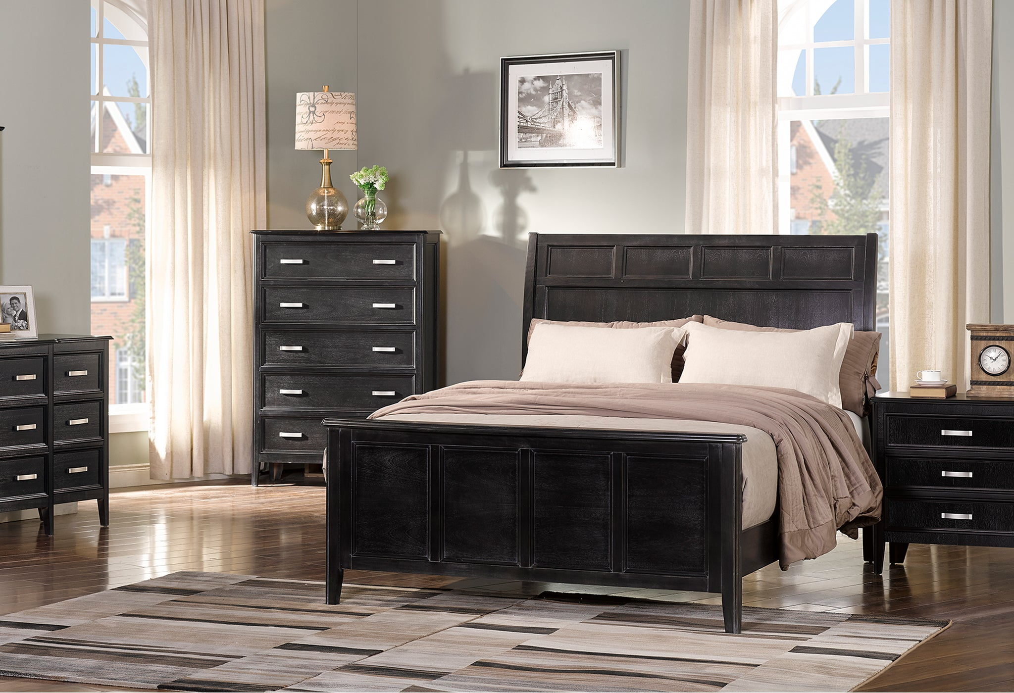 Richfield Ebony Bedroom