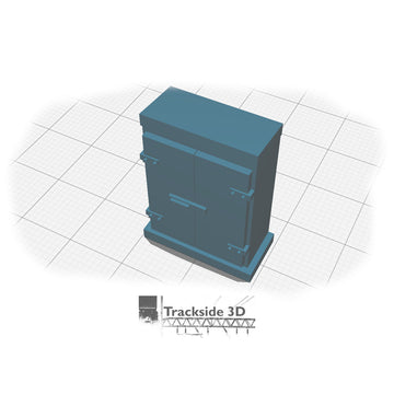 T3D-002-004 Location Case - Large (BR - Slanted Top)