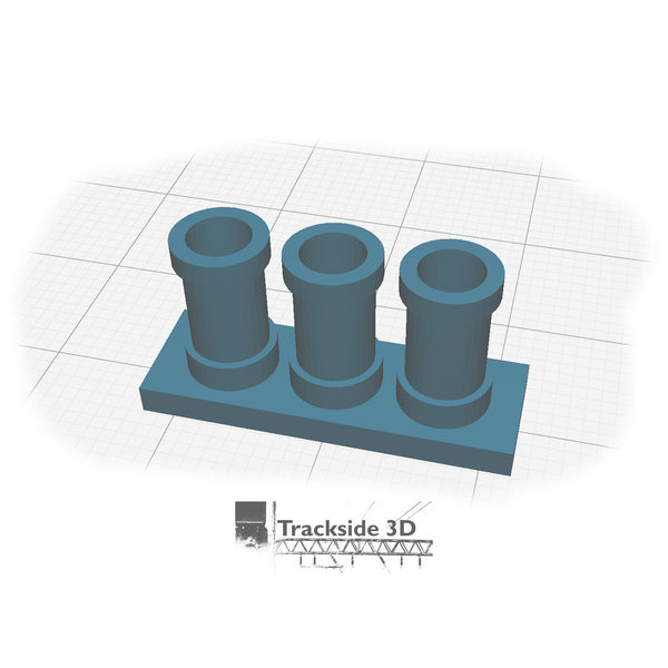 T3D-006-001 Chimney Pots - AA-000-3