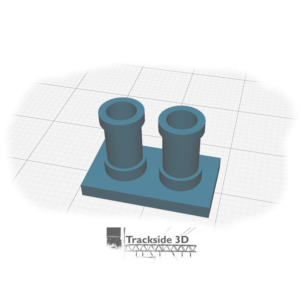 T3D-006-002 Chimney Pots - AA-001-2
