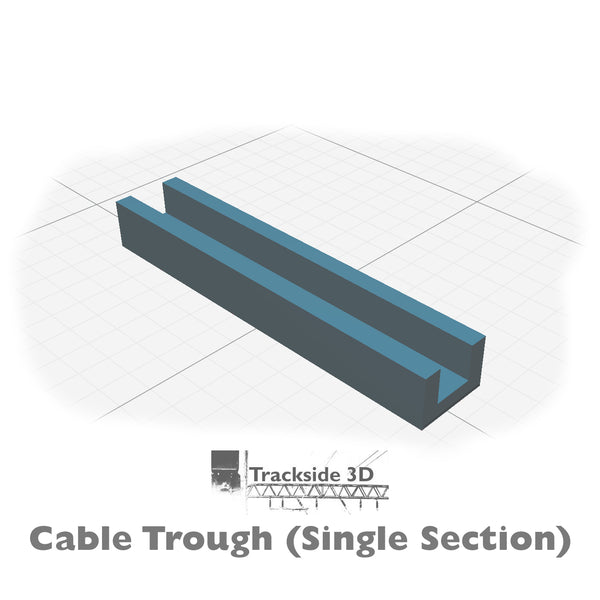 T3D-007-001 Cable Trunking 100mm C1.6