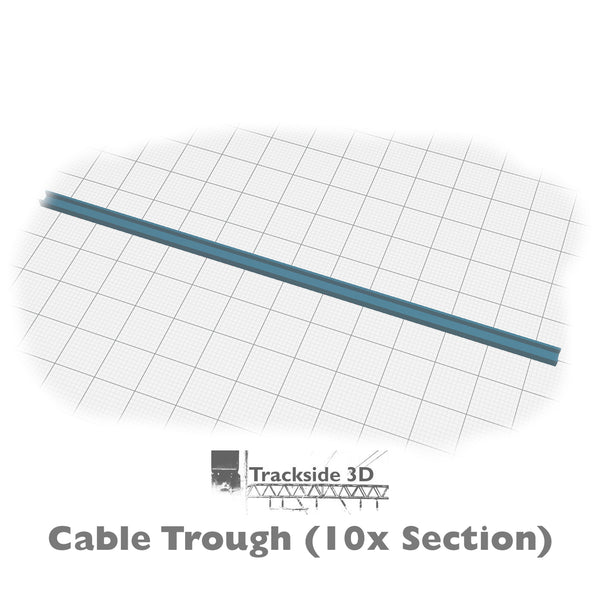 T3D-007-004 Cable Trunking 190mm C1.9
