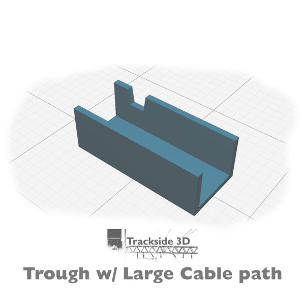 T3D-007-015 Cable Trunking 350mm C1.43 Cable Path Kit