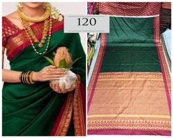 Soft And Smooth Golden Zari Satin With Digital Printed Saree And Blouse