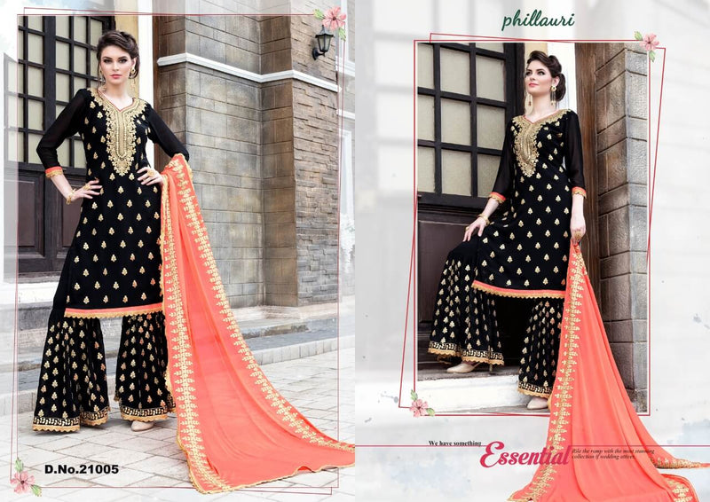 New Stylish Gota Patti Pattern Sharara Salwar Suit with Heavy Work