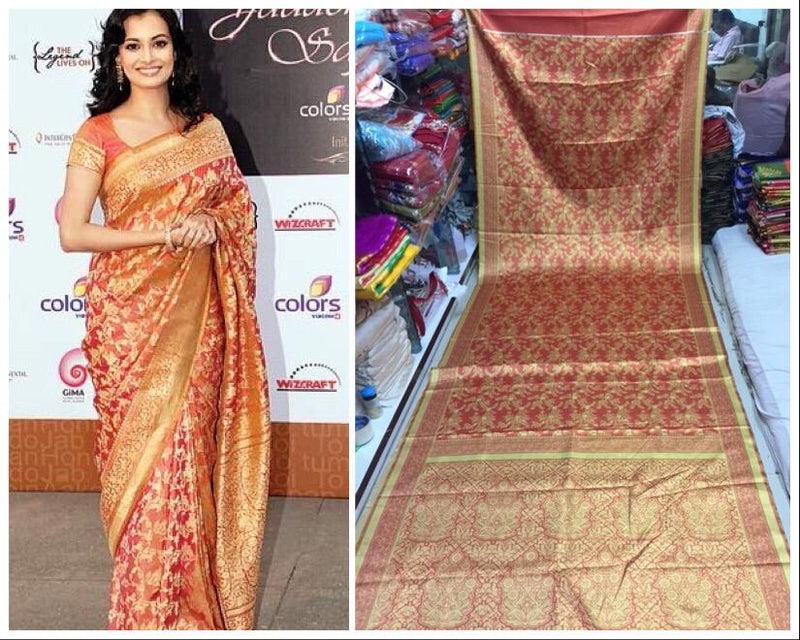 Top Designs Digital Printed Smooth Saree