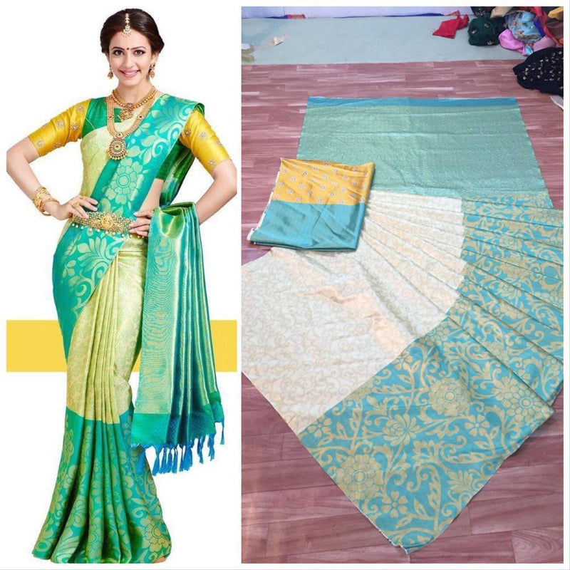 Trandy Designs Digital Printed Soft And Smooth Saree