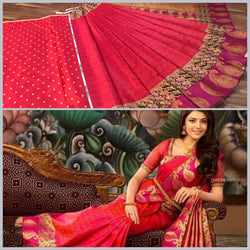 Exclusive Trendy Digital Printed Smooth Saree