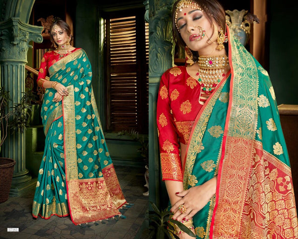 Banarasi Pethni Silk Designs Printed Saree