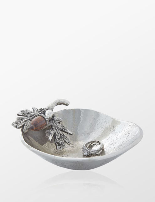 Mud Pie Acorn Trinket Dish