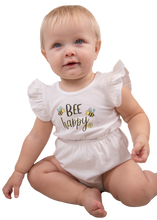 Load image into Gallery viewer, Simply Southern Collection Bee Happy Bow Crawler