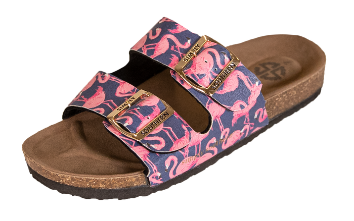 Simply Southern Collection Flamingo Sandals