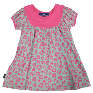 Simply Southern Collection Leopard Toddler Flare Dress