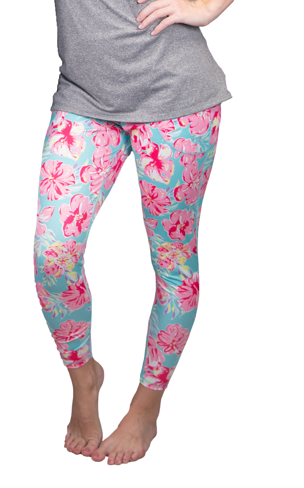 Simply Southern Collection Tropic Yoga Pants