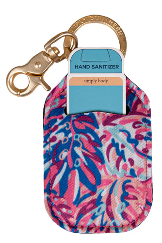 Simply Southern Rainforest Sanitizer Keychain