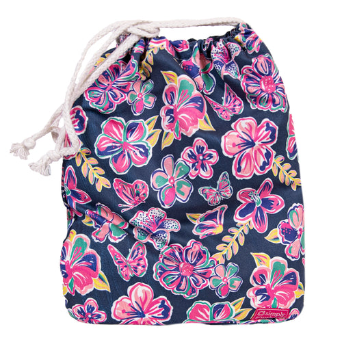 Simply Southern Butterfly Quick Dry Towel with Drawstring Bag