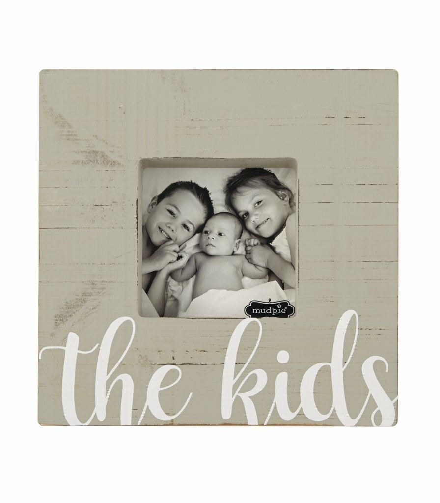 MUD PIE THE KIDS BLOCK FRAME
