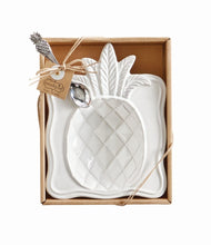 Load image into Gallery viewer, MUD PIE PINEAPPLE CANDY DISH SET