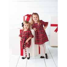 Load image into Gallery viewer, Mud Pie Tartan Plaid Dress & Bloomer Set