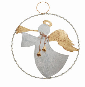 Mud Pie Angel Ring Door Hanger