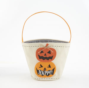 MUD PIE CANVAS TRICK OR TREAT BAGS