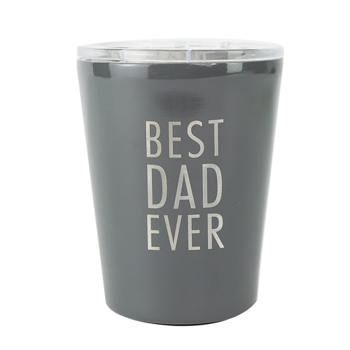 Mary Square Best Dad Ever Tumbler
