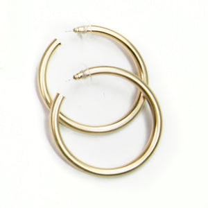 Michelle McDowell Estonia Gold Hoops