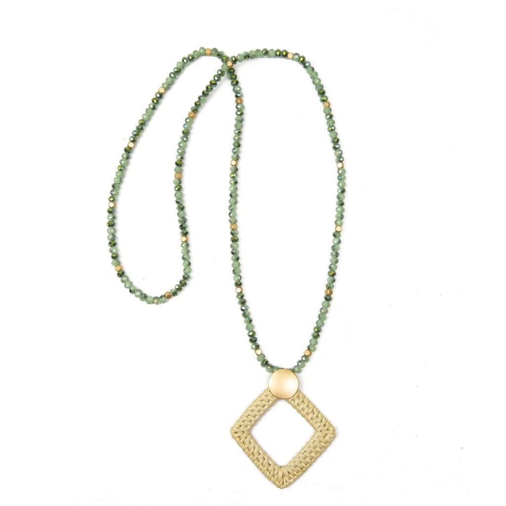 MICHELLE MCDOWELL AVON NECKLACE MINT