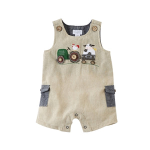 Mud Pie Farmhouse Shortalls