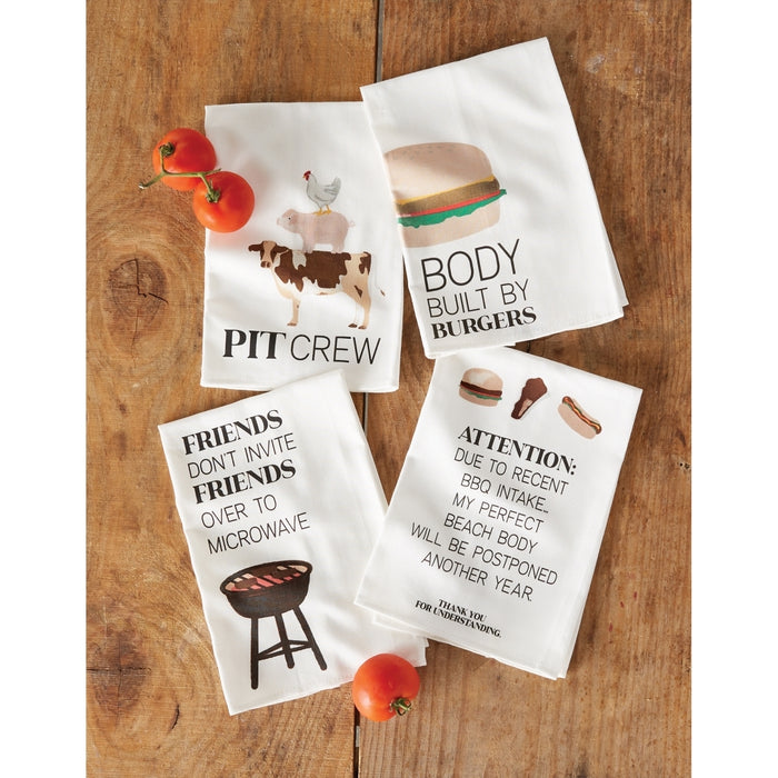MUD PIE BBQ COTTON TOWELS