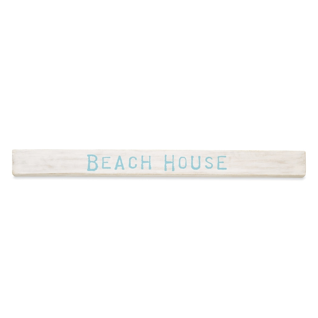 Mud Pie Beach Wood Sentiment Sticks