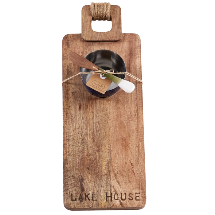 MUD PIE LAKE HOUSE BOARD SET
