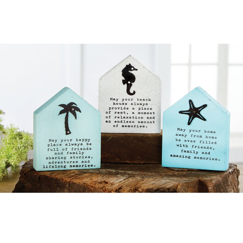 Mud Pie Beach Plaques