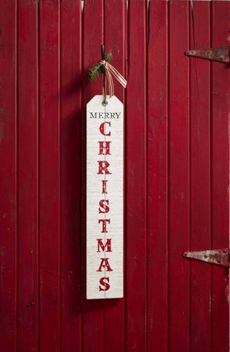 Mud Pie Welcome/Christmas Reversible Sign