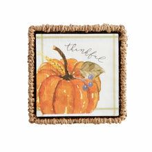 Load image into Gallery viewer, Mud Pie Pumpkin Napkin Basket Sets