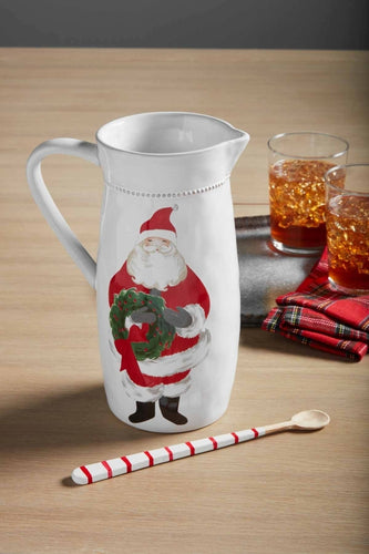 Mud Pie Santa Pitcher Set