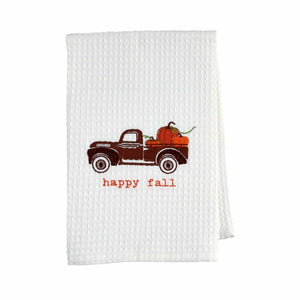 Mud Pie Thanksgiving Waffle Towels