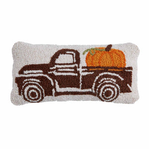 Mud Pie Thanksgiving Mini Hooked Pillows
