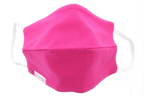 Jane Marie Hot Pink Face Mask