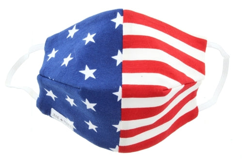 Jane Marie American Flag Youth Face Mask